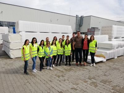 Участниците от Академия Лидерите посетиха базата на Технопанел ЕАД